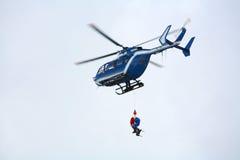 Mountain rescue Stock Photos