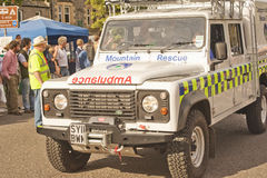 Mountain rescue Ambulance. Royalty Free Stock Photos