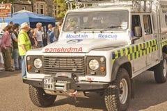 Mountain rescue Ambulance. Royalty Free Stock Photos