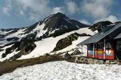 Mountain rescue refuge. Mountain rescue team cabin from Retezat -Romanian Carpathian Royalty Free Stock Image