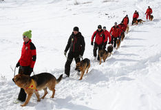 Mountain Rescue Service at Red Cross Stock Photography