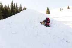 Mountain Rescue Service Stock Photos