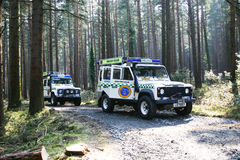 Mountain Rescue. Vehicle for mountain rescue used in the Mourne mountains Co. Down Northern Ireland Stock Photo