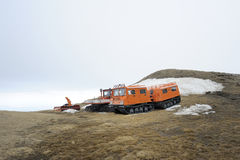 Mountain rescue vehicles Stock Photos