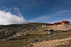 Mountain Resort. Montain resort in Serra da Estrela, Portugal highest mountain range Royalty Free Stock Photography