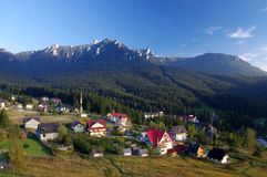 Mountain resort Royalty Free Stock Photography