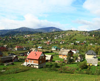 Mountain resort in Transcarpathia. Royalty Free Stock Photos
