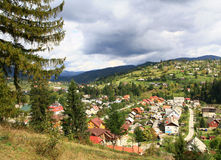 Mountain resort in Transcarpathia. Stock Photos
