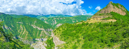 The mountain resorts of Armenia Royalty Free Stock Image