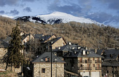 Mountain resorts at Vall de Boí Royalty Free Stock Images