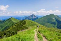 On the mountain-ridge Royalty Free Stock Image