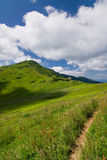 On the mountain-ridge Royalty Free Stock Photo