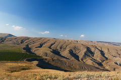 Mountain. Ridge Biyuk-Anychar, Koktebel, Crimea royalty free stock photography