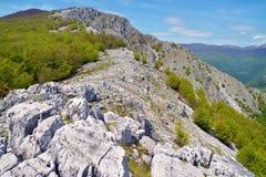 Mountain ridge Stock Photo