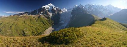Mountain ridge in Caucasus Stock Images