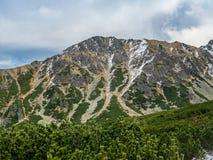 Mountain ridge in High Tatra Stock Photos