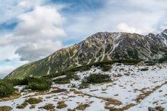 Mountain Ridge in High Tatra Royalty Free Stock Images