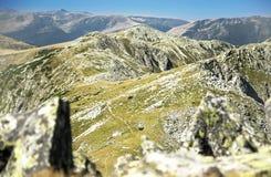 Mountain Ridge Landscape Royalty Free Stock Images