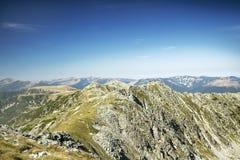 Mountain Ridge Landscape Stock Photo