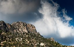 Mountain ridge landscape Royalty Free Stock Photos
