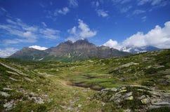 Mountain ridge Royalty Free Stock Images