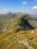 Mountain Ridge. In the summer Stock Image