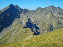 Mountain ridge in a sunny day Royalty Free Stock Images