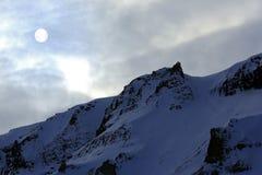 Mountain Ridge Svalbard Royalty Free Stock Photo