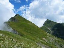 Mountain ridges Royalty Free Stock Photo