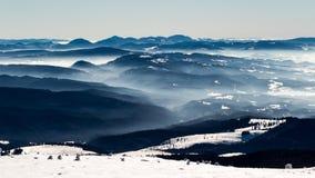 Mountain ridges Royalty Free Stock Photos