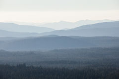 Mountain Ridges Royalty Free Stock Images