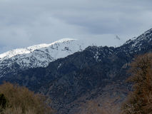Mountain Ridges. Light variations on mountain ridges Royalty Free Stock Image