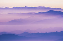 Mountain ridges Royalty Free Stock Photo