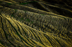 Mountain Ridges. Taken in the Wither Hills, Marlborough Stock Photography