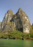Mountain with river Stock Photo