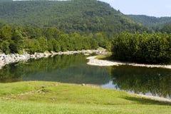 mountain river Στοκ Εικόνα