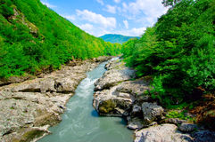 Mountain river Stock Photography