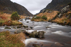 The mountain river Royalty Free Stock Image