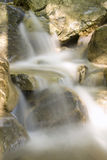 Mountain river. Close up water on a mountain river Royalty Free Stock Images