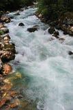 Mountain river in Abkhazia Stock Photos