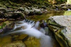Mountain river Agura Royalty Free Stock Photos