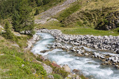 Mountain River, Austria Stock Photography