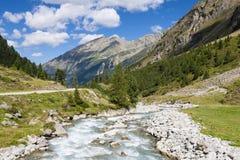 Mountain River, Austria Stock Photos