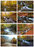 Mountain river in autumn Royalty Free Stock Photo