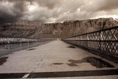 Mountain River Bridge Stock Photos