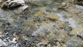 Mountain river in the Crete royalty free stock photography
