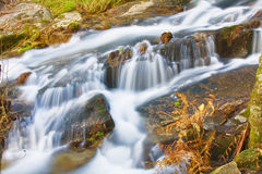Mountain river in Geres National park stock images