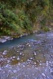 Mountain river landscape, Pokhara, Nepal Stock Images
