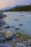 Mountain river landscape, Pokhara, Nepal Stock Photography