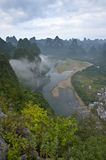 Mountain in river Li Royalty Free Stock Images